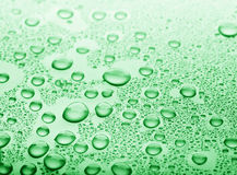 Background of water drops Royalty Free Stock Photos