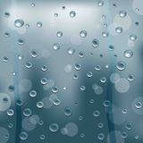 Background of  water drops Stock Photography