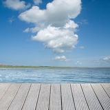 Background on water Royalty Free Stock Image