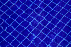 Background of water in the swimming pool with a wave Stock Image