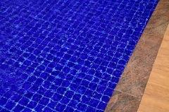Background of water in the swimming pool with a wave Royalty Free Stock Photo