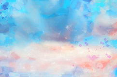 Background watercolor blots Royalty Free Stock Photo