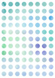 Background with watercolor circles Royalty Free Stock Photo