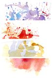 Background watercolor 8 Stock Photos