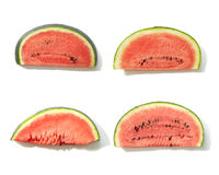Background of watermelon slices Stock Image