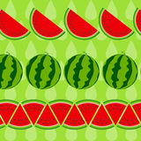 Background From Watermelon. Vector Illustration. Royalty Free Stock Photography