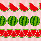 Background From Watermelon. Vector Illustration. Royalty Free Stock Image