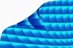 Background with wave grid Royalty Free Stock Photos