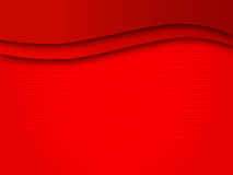 Background wave lines red field Stock Photos