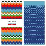 Background. Wave. Vector illustration. Picture of a color wave. Vector illustration Stock Photography
