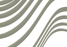 Background of Wavy Lines. An image with wavy lines in 3D Royalty Free Illustration