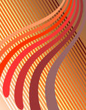 Background with wavy lines. Stock Images