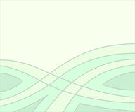 Background of wavy lines and figures.Vector illustration. Royalty Free Stock Photo