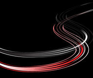 Background with wavy lines. Vector. Stock Photos
