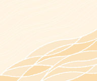 Background of wavy lines.Vector illustration. Stock Images