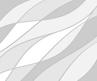 Background of wavy lines.Vector illustration.Flat. Gray Stock Images