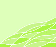 Background of wavy lines.Vector illustration. Stock Photography