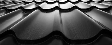 Background of wavy metallic Stock Photo