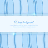 Background with wavy stripes Royalty Free Stock Photos