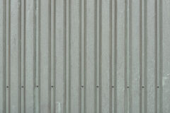 Background of weathered dark green metal wall panels. On a barn royalty free stock photography