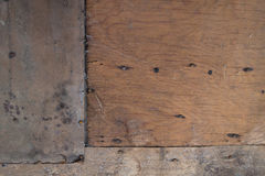 The background of weathered wood for design. The background of weathered painted wood for design royalty free stock photos