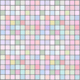 Background for the website. In pastel colors with geometric square detail Stock Images