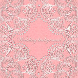 Background wedding with lace and pearls Royalty Free Stock Images