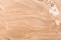 Background of wet sand Stock Images