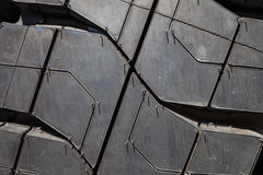 Background of the wheel tread Royalty Free Stock Image