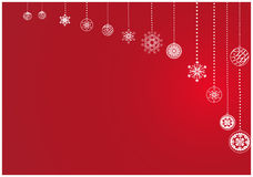 Background with white balls. New-year christmas background with white balls Stock Photo