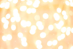 Background with white blurred bokeh Royalty Free Stock Image