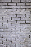 Background of white brick wall texture Stock Image