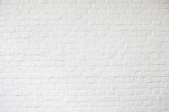 Background of white bricks. White plastered wall, white brickwall surface stock image