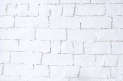 Background with a white bright brick wall royalty free stock images