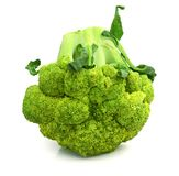 Background white  broccoli brocolli diet vegetable raw organic nature vegetables stem fresh health object food vegetari Stock Photo