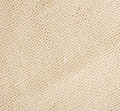 Background of white coarse linen cloth Royalty Free Stock Image