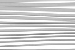 Background of white 3d abstract waves. Render Stock Photos