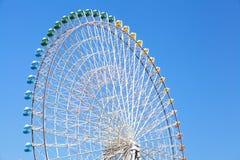 Ferris wheel in blue sky Stock Image