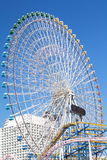 Ferris wheel in blue sky Royalty Free Stock Photo