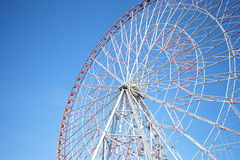 Ferris wheel in blue sky Royalty Free Stock Images