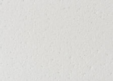 Background of white foamed polystyrene surface Stock Photography