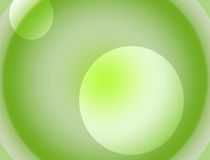 Background white and green gradient Stock Photo