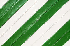 Background white and green wood Stock Image