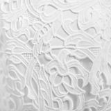 Background of white lace fabric. The background of white lace fabric. texture royalty free stock photo