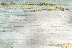 Background of white painted board, cracked surface Royalty Free Stock Photos