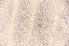 Background - white sand Stock Images
