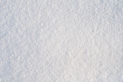 Background from white  snow. Full frame focus Royalty Free Stock Images