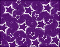 Background from white stars Royalty Free Stock Images