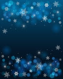 Background with white stars and shades Stock Photo