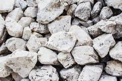 Background of white stones Stock Photos